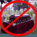 no casket