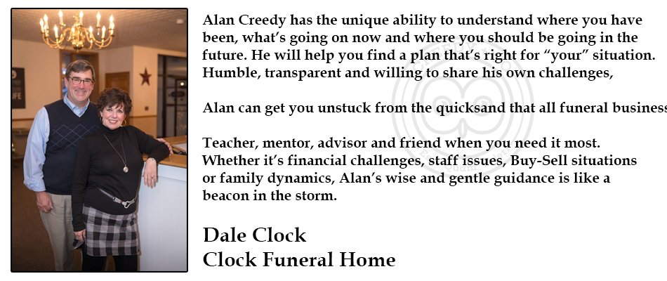 Dale Clock Testimonial