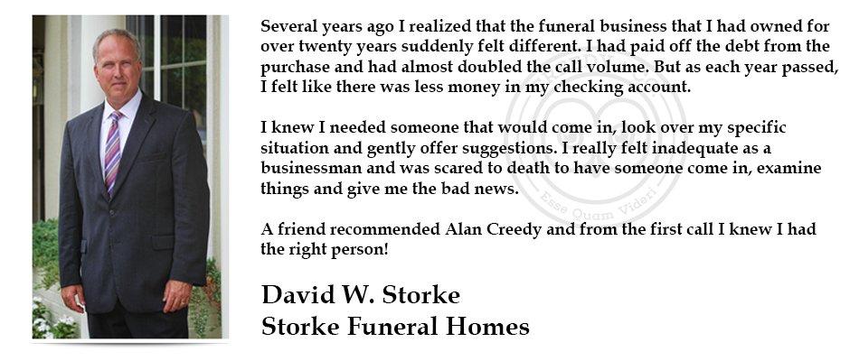 David Storke Testimonial