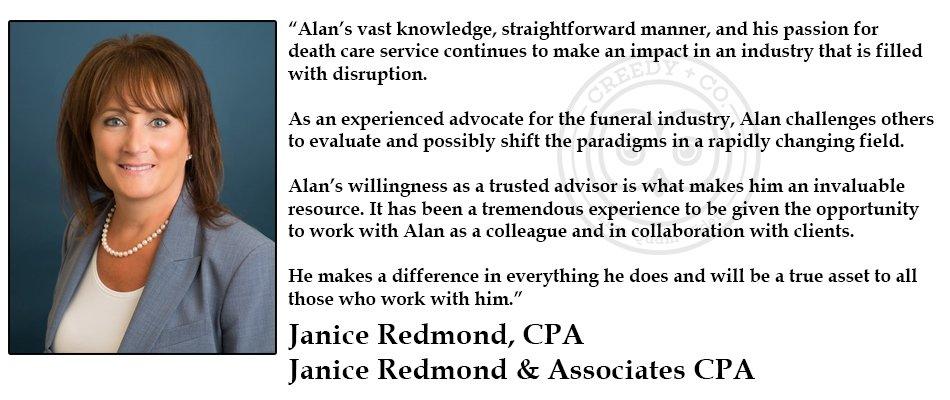 Janice Redmond Testimonial