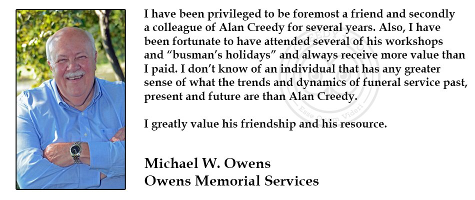 Michael Owens Testimonial