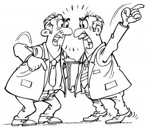 Arguing Funeral Directors